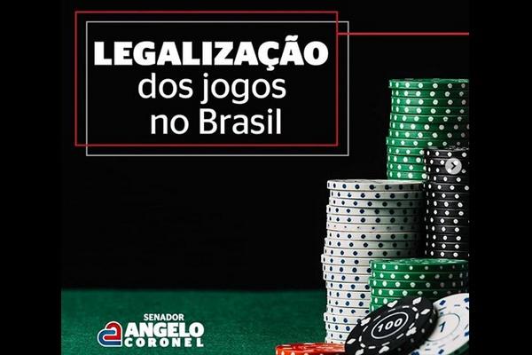 Senador Angelo Coronel defende legalização dos jogos