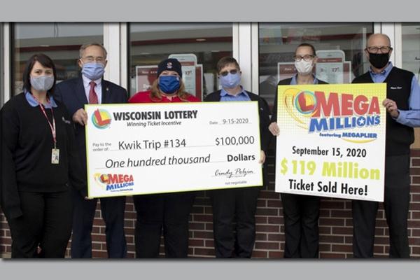 Apostador de Wisconsin reivindica US$ 120 milhões de prêmio da Mega Millions