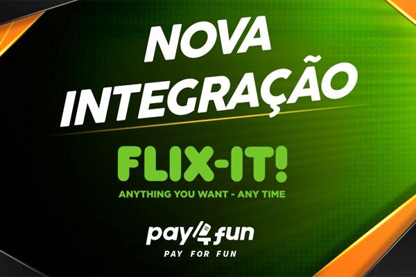 Flixit: uma novidade aos clientes da Pay4Fun