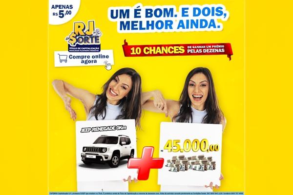 Na Black Friday do RJ DA SORTE® tem R$ 10 mil por mês durante um ano