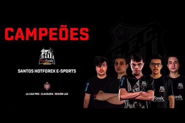 Santos Hotforex é campeão sul-americano de CS:GO na La Liga Pro The Walking Dead: World Beyond