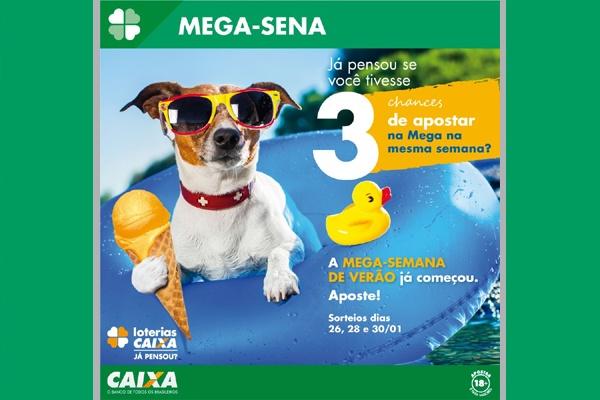 Mega-Semana de Verão pode pagar R$ 2 milhões no concurso desta terça-feira