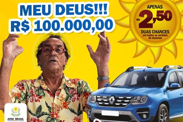 Humorista David Pinheiro é a estrela da nova campanha do RJ DA SORTE®