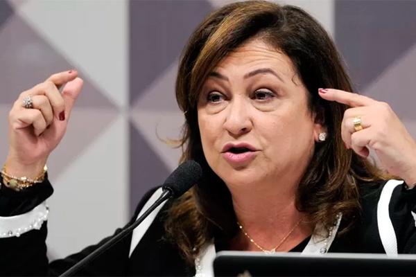 Tweet de senadora Kátia Abreu gera debate sobre rinha de galo