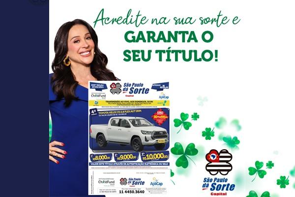 'São Paulo dá Sorte' sorteia uma Toyota Hilux e prêmios em dinheiro