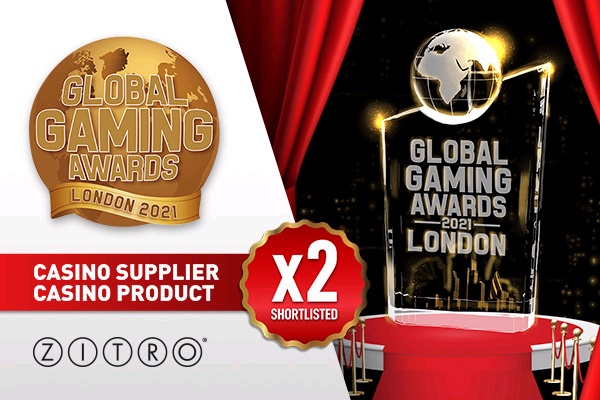 Zitro é indicada para o 'Global Gaming Awards Londres 2021'