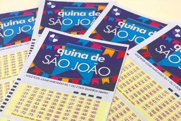 Começam nesta segunda-feira as apostas na Quina de São João 2021