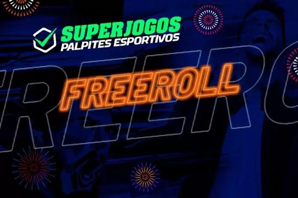 Freeroll é oportunidade imperdível no SuperJogos Palpites Esportivos