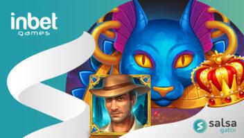 Jogos da InBet Games vão ao ar na plataforma Salsa Gator