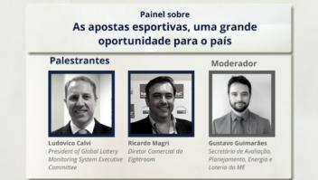Ministério da Economia debate 'As apostas esportivas, uma grande oportunidade para o país' 1