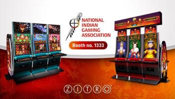 Zitro pronta para brilhar no Indian Gaming Trade Show de Las Vegas