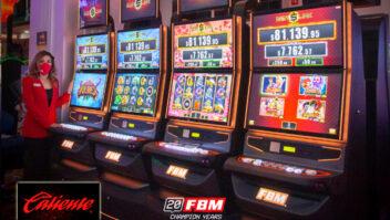 FBM fortalece relacionamento com Caliente Group e instala 300 gabinetes com a slots Multi-Game 1