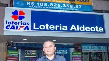 Lotérica de Fortaleza é a número 1 em vendas de bolões dos jogos das loterias Caixa