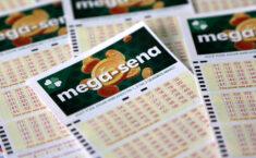 Sorteio da Mega-Sena desta quarta-feira repete 3 dezenas do último concurso de sábado 1