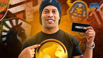 Ronaldinho Gaúcho foca em comunidade gamer com Copa R10 de Free Fire