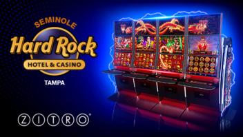 Zitro USA lança seus jogos progressivos 88 Link no Seminole Hard Rock Hotel & Casino Tampa