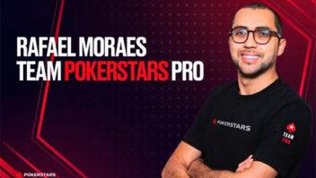 PokerStars.net anuncia Rafael Moraes como seu novo embaixador