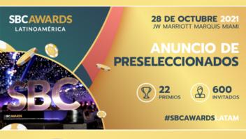 SBC divulga os finalistas do 'SBC Awards Latin America'