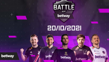 Casa de apostas Betway lança seu maior torneio mundial de CS:GO