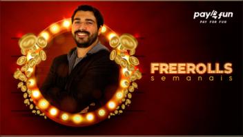 Freerolls semanais para clientes da Pay4Fun