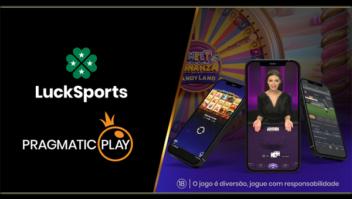 Pragmatic Play assina um negócio multi-produto com LuckSports no Brasil