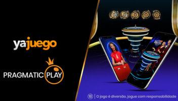 Pragmatic Play estende contrato com a Yajuego para produtos de cassino ao vivo na Colômbia